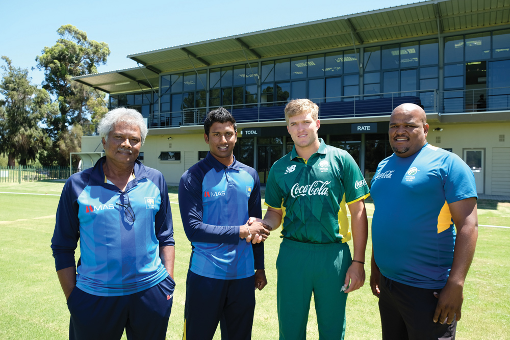 Protea u/19 Cricket Team tackles Sri Lanka u/19 tomorrow on Rec