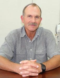 Joey Potgieter, voorsitter van Agri Klein Karoo.