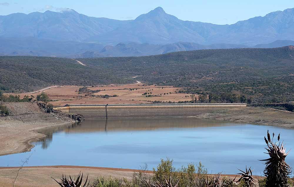 Kammanassiedam het net 8,4% water