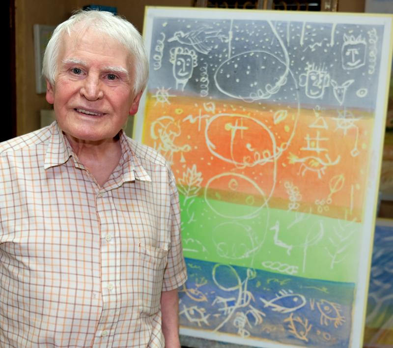 Meer as 100 van Thijs Nel se kunswerke in Pretoria uitgestal