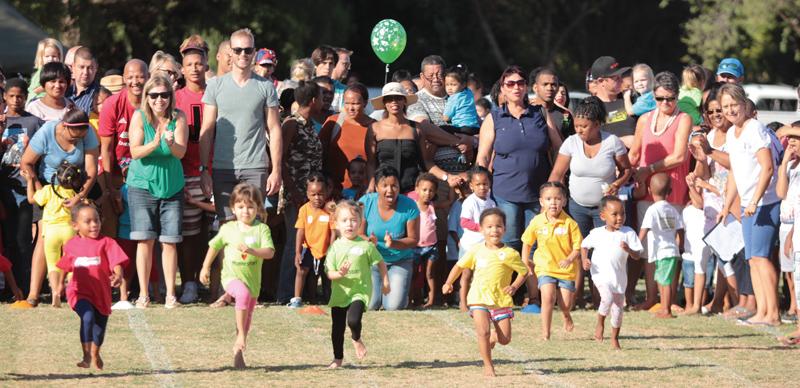 Action Kids hou Kleuteratletiekdag op Oudtshoorn!