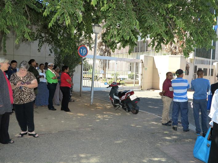 Polisiekantoor veilig verklaar na vroeëre bomdreigement