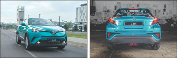 Opwindende nuwe Toyota C-HR is hier!