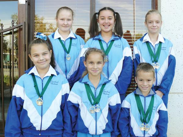 Laerskool Webank Gimnaste neem deel aan Eden-gimnastiekproewe