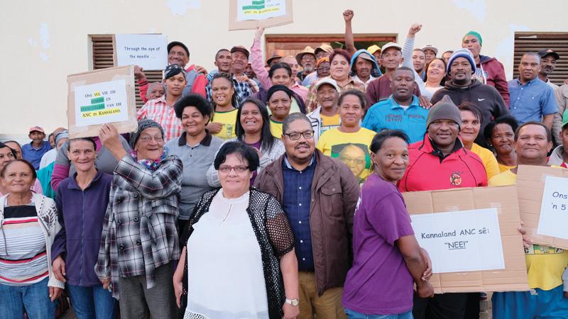 ANC-ondersteuners van Zoar sê nee vir koalisie met Icosa