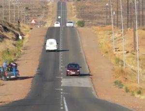 De Rust-pad van Maandag 24 uur toe met stop/ry-stelsel