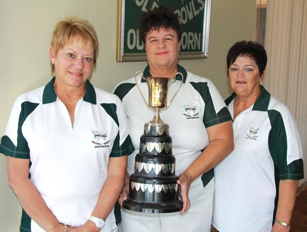 Wenners Rolbalklub se geslote driespelvrouekampioenskappe