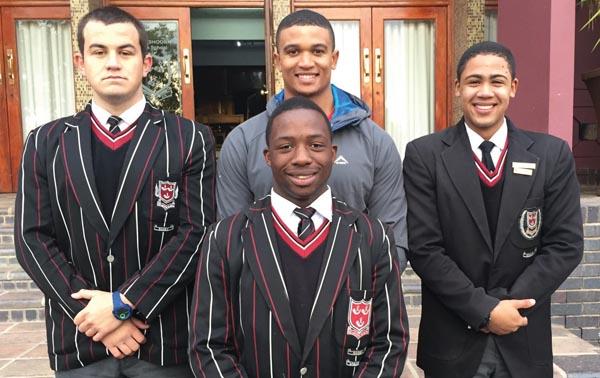 Hoërskool Oudtshoorn rugbyspelers gekies vir vanjaar se SWD-spanne
