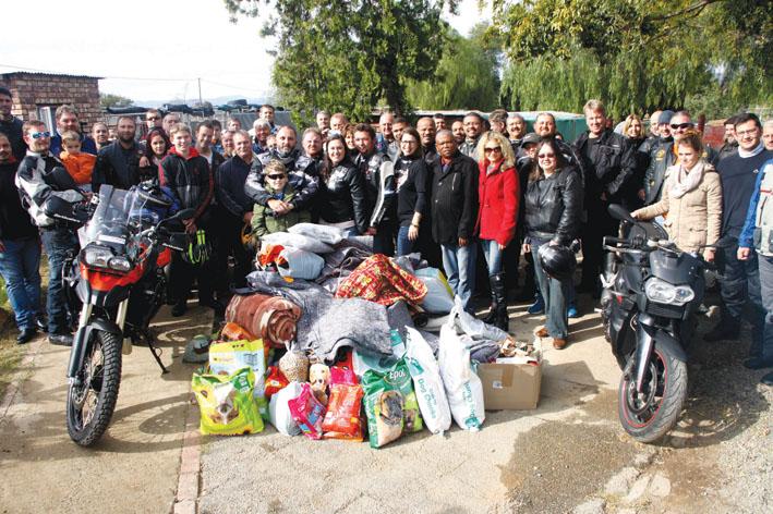 Bikers brul Sondag vir die Oudtshoorn Diereskut
