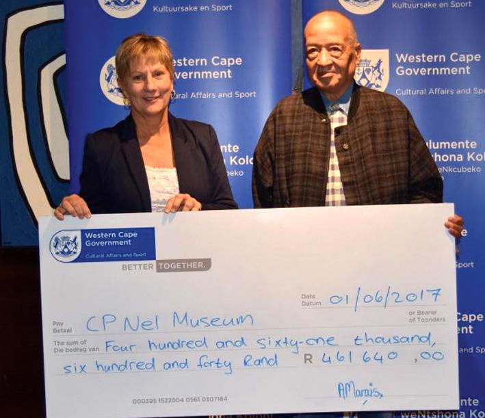 Museums ontvang bydrae van Departement Kultuursake en Sport