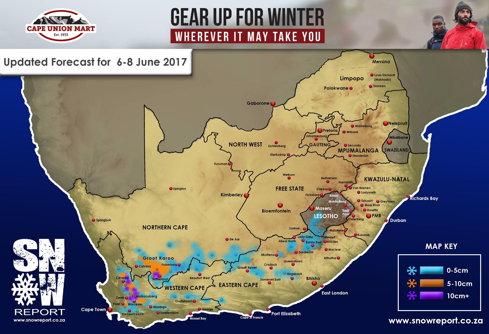 Rukwinde van 70 km/h vir Klein Karoo voorspel