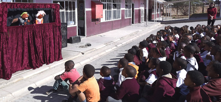 Kinderbeskermingsweek op Oudtshoorn