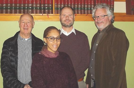Coetzee & Van der Bergh spog met nuwe kandidaat-prokureur