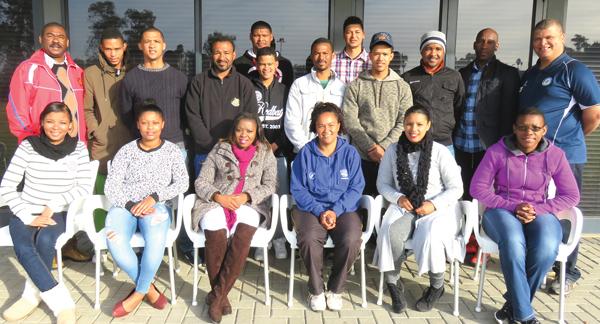 Sportadministrasie-studente doen jaarlange kursus by die REC