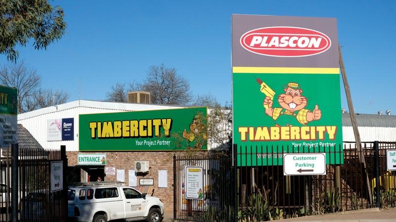 'Nuwe' Timbercity onthaal kliënte, verskaffers