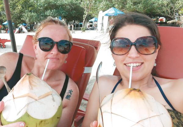 Hallusinasies en groot skrik ná drankies in Bali