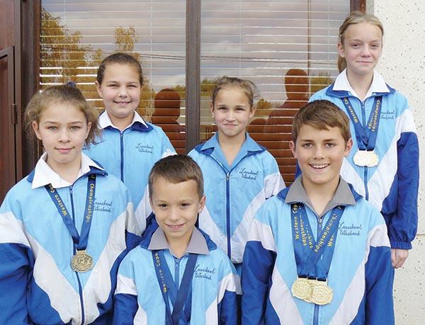Gimnaste van Laerskool Wesbank gekies vir Wes-Kaapse span