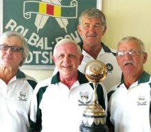 Oudtshoorn Rolbalkampioenskap vir vier-in-'n-span wenners
