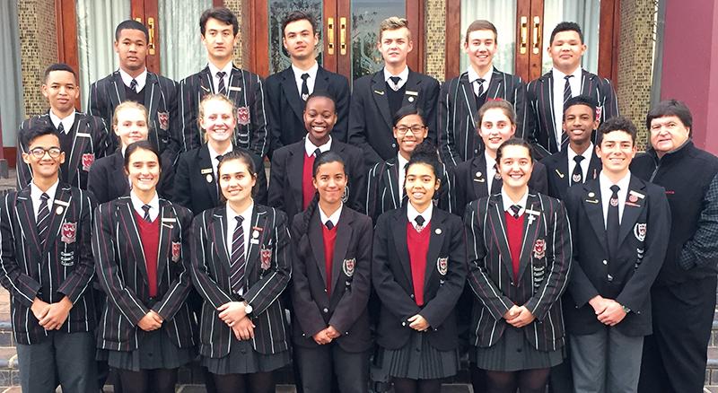 Hoërskool Oudsthoorn se matriekraad vir 2018