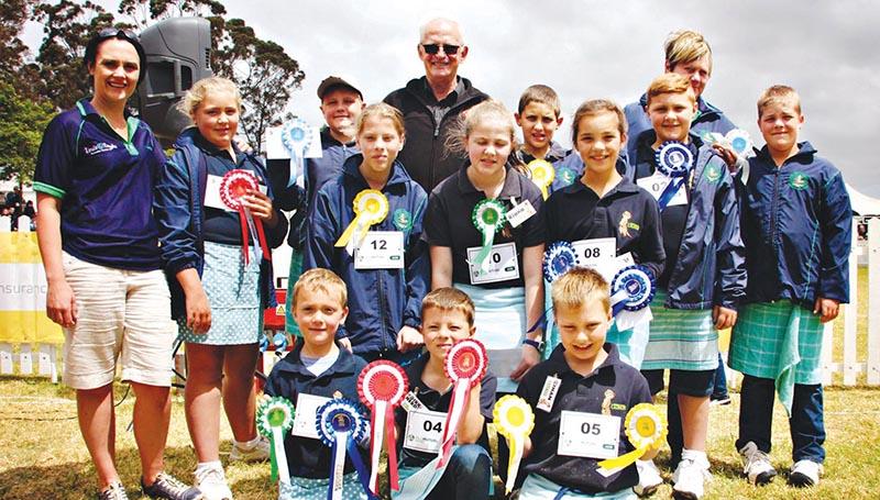 Elf leerders van Laerskool Laurus presteer tydens Sandringham se Livestock Expo