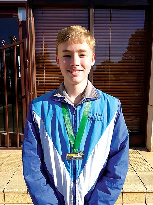 Reece Wheeler behaal tweede plek tydens die Timbercity Cycle Tour