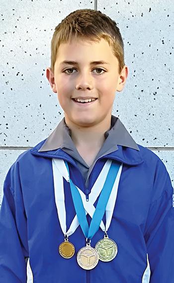 Leerder van Laerskool Wesbank blink uit by SA Gym Games