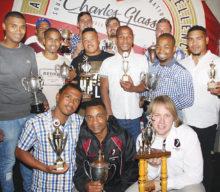 Oudtshoorn rugbyklub gee erkenning aan klubspelers