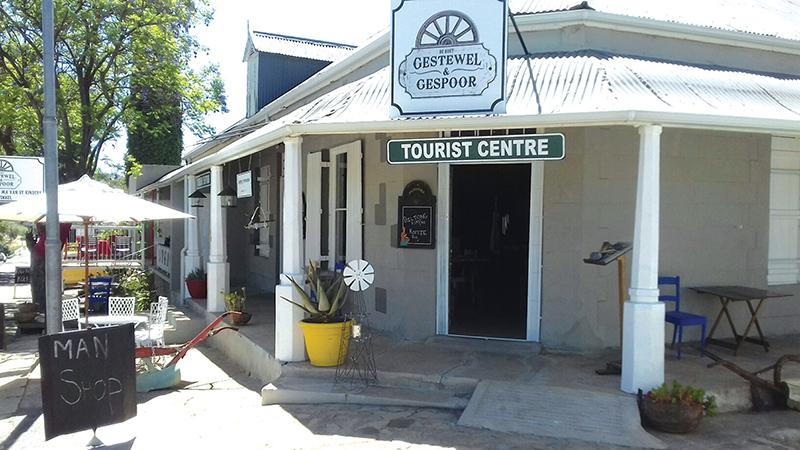 De Rust spog nou  met toerismekantoor!
