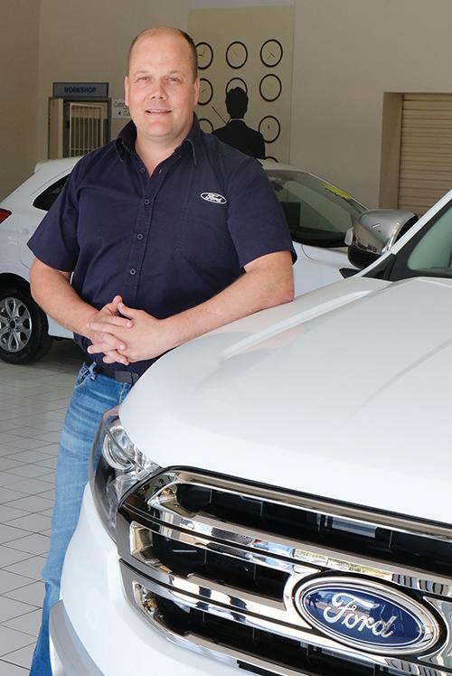 Ford kry nuwe handelaarshoof