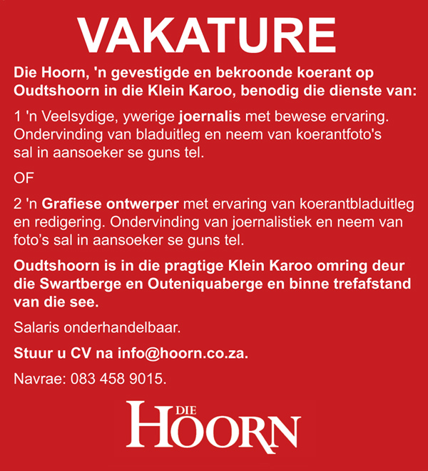 Vakature by Die Hoorn