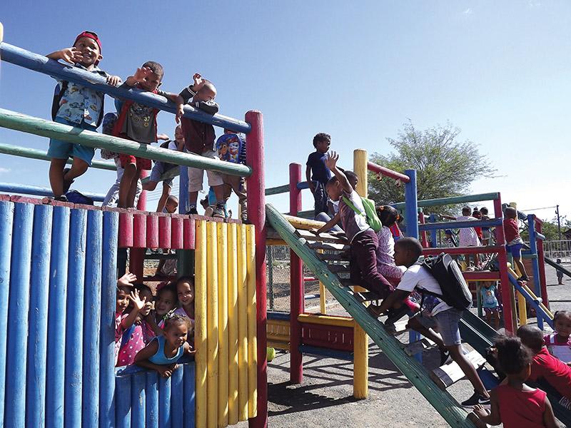 Kleuterskool groei van 17 tot 320 kinders!