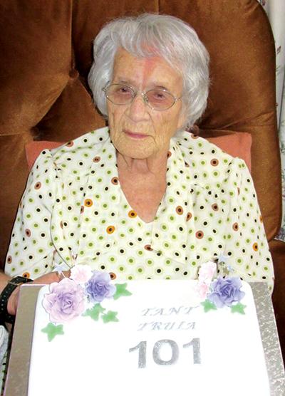 101 jaar oud en gesond!