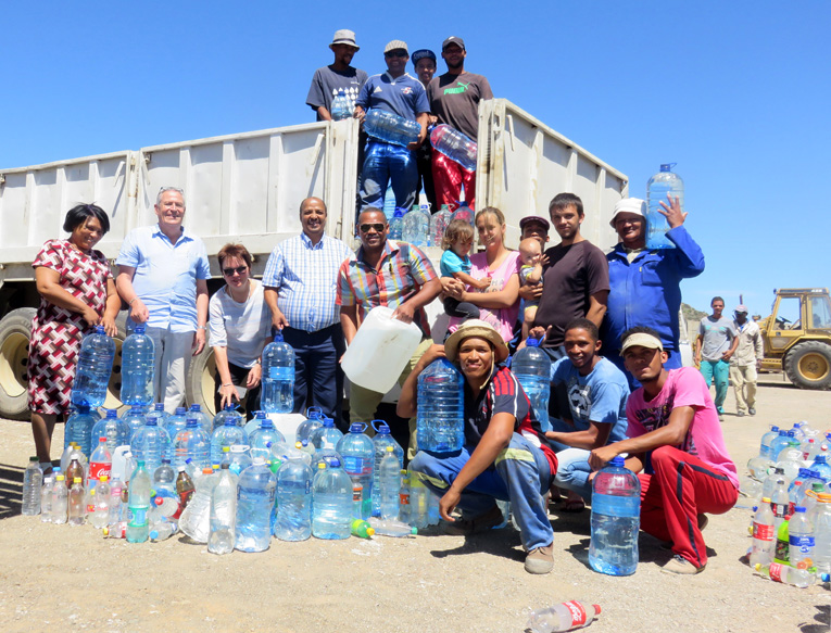 150 000 liter water vir Prins Albert en Beaufort-Wes