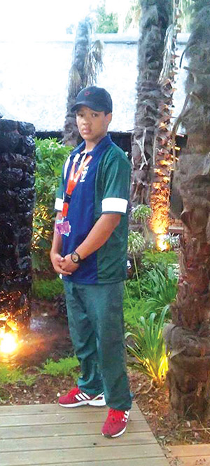 Jodin Arries (16). Foto Facebook