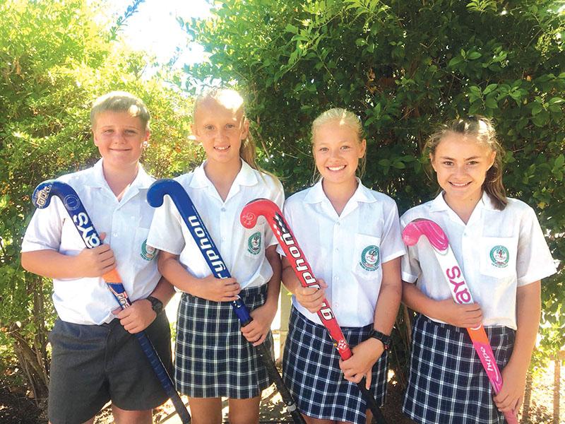 Vier leerders van Laerskool Laurus o.13-hokkiesteekproewe dring deur na volgende ronde proewe