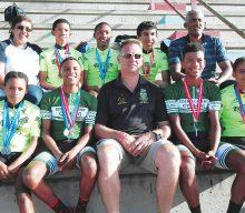 Nege fietsryers van Eden-distrik neem deel aan Junior en Meesters Baanfiets-rykampioenskap