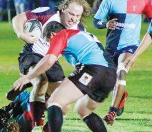 Oudtshoorn Rugbyklub se A-span klop Harlequins