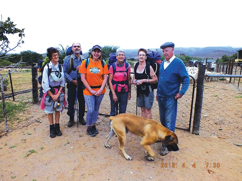 Oudtshoorniete stap in die Karoo