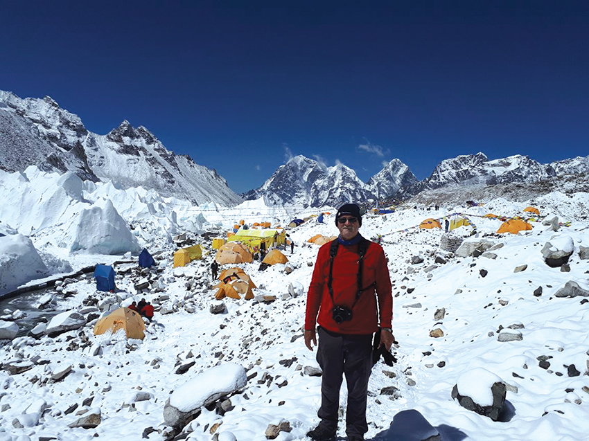 Everest nog altyd op Louis se 'bucket list'