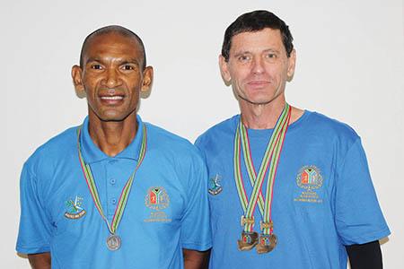 Oudtshoorniete blink uit by die SA Meestersatletiekkampioenskap