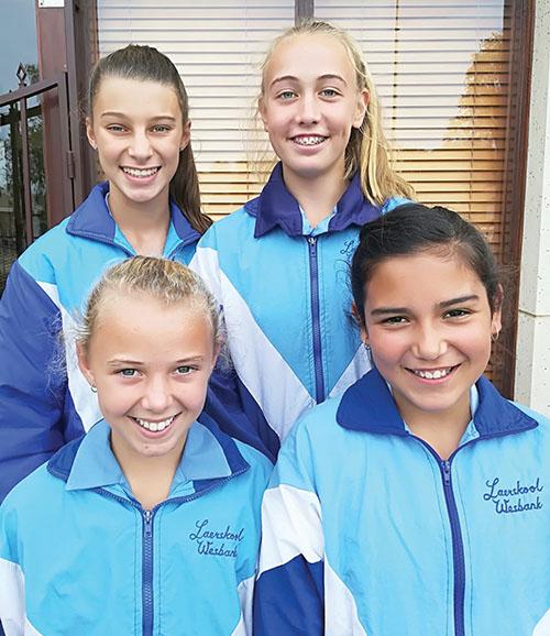 Vier leerders van Laeskool Wesbank is in Eden-hokkiespanne opgeneem