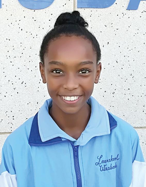 Leerling van Laerskool Wesbank verwerf Wes-Kaap kleure in Netbal