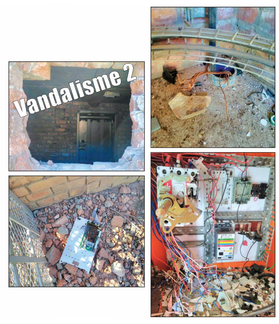 Ernstige vandalisme by boorgat wat Dysselsdorp water gee