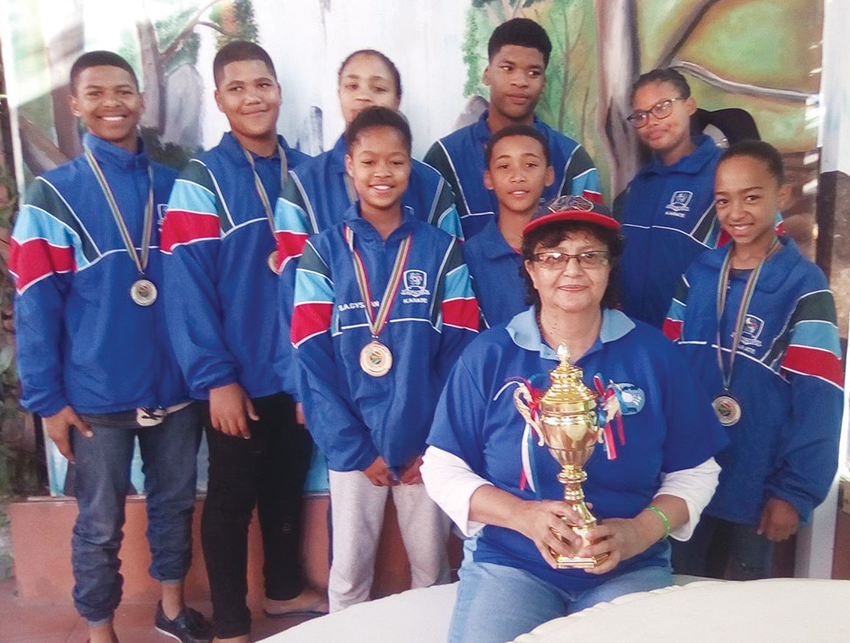 Jikkai-do Karateklub van Oudtshoorn presteer by die SA Karatekampioenskappe