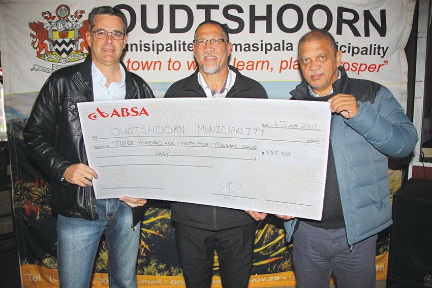 Oudtshoorn Sportfees ontvang R335 000 van Wes-Kaapse departement van kultuur en sport