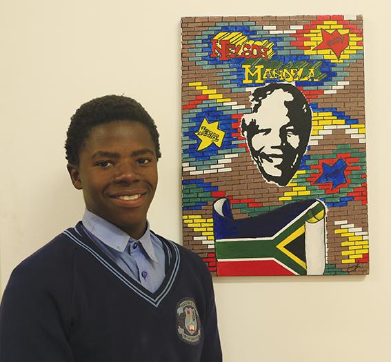 Skilderprojek vir Mandeladag
