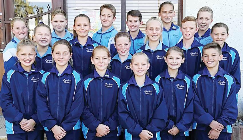 17 Leerders van Laerskool Wesbank verwerf Eden-tenniskleure