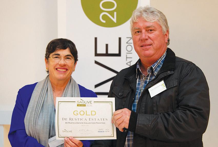 De Rustica kry weer goud by SA Olyftoekennings