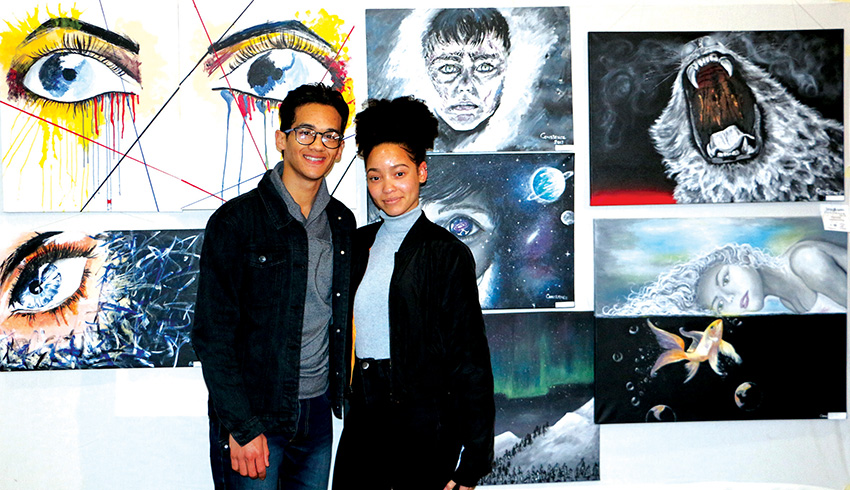 Oudtshoorn High School held Art and Photo exhibition