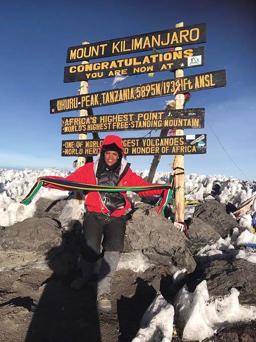 Merlene oorwin Kilimandjaro!